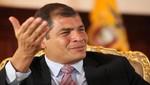 Rafael Correa dispuesto a renunciar a la presidencia si le hallan cuentas en Suiza