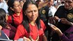 Nadine Heredia: camioneta donde iba pertenece a ONG vinculada a Hugo Chávez