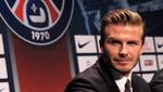 David Beckham fue fichado por el París Saint-Germain