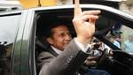 Ollanta Humala: auto que lo trasportaba se pasó la luz roja [VIDEO]