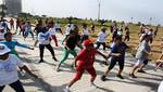 Más de 100 mujeres celebraron haciendo ejercicios con 'Actívate San Miguel'