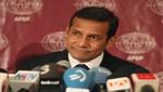 Ollanta Humala le solicitó a Chile usar de la base chilena Eduardo Frei en la Antártica