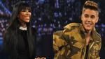 Justin Bieber posa junto a Naomi Campbell [FOTO]