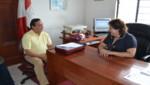 Embajador de Colombia en Perú realiza visita a Iquitos