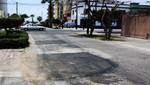Municipalidad de San Miguel repara pistas deterioradas por camiones de carga pesada