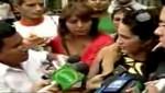 Kina Malpartida a periodista: 'No me toques que te puedo enjuiciar' [VIDEO]