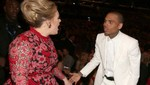 Adele y Chris Brown tuvieron un altercado en los Grammy Awards 2013 [FOTO]