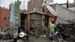 Ica: Lluvias ocasionan daños en las provincias de Nazca y Palpa