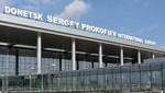 Un avión se estrelló en el  aeropuerto internacional de Donetsk, Ucrania