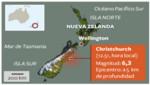 Un sismo de 6 grados sacudió el norte de Nueva Zelanda