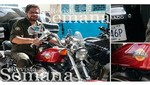 Las FARC: difunden imagen de Iván Márquez montando una Harley Davidson