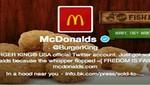 Hackearon la cuenta de Twitter de Burger King
