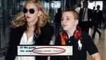 Comentario del hijo de Madonna enfada a Colombia