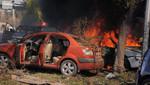 Gobierno sirio informó que son 50 personas muertas por explosión cerca de la Embajada de Rusia en Damasco