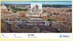 Cerrarán la cuenta Twitter de Benedicto XVI tras su  renuncia