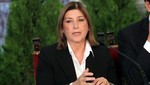 Ministra Eda Rivas desmintió a Aguinaga por salud de Fujimori