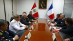 Ministerio de Defensa recibió a Ministro de asuntos Extranjeros de Francia