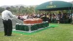Restos del reportero gráfico Luis Choy fueron enterrados en el cementerio Campo Fe de Huachipa [FOTOS]