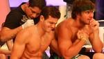 Combate: Mario Irivarren y Miguel Arce se tatúan en vivo [VIDEO]