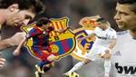 Real Madrid ganó  3 - 1 al Barcelona en condición de visitante