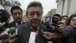 Rafael Roncagliolo: 'Esperamos que EE.UU. se rectifique'