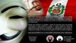 Anonymous Perú publicó teléfonos y cuentas bancarias de ministros [VIDEO]