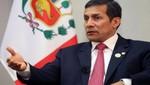 Ollanta Humala sobre Perú: existe inseguridad en el país