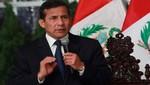 Presidente Humala rechaza versión de supuesto blindaje a director de la Policía Nacional