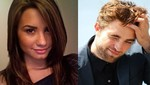Demi Lovato descarta romance con Robert Pattinson