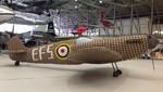 Reproducen el legendario caza británico Spitfire con 6.500 cajas de huevos