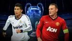 Champions League: alineaciones confirmadas de Manchester United y Real Madrid