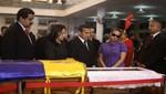 Presidente Ollanta Humala participa en honras fúnebres en honor a Hugo Chávez