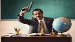 ¿Los profesores de EE.UU van a  portar armas en las escuelas?