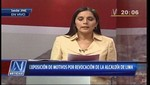 Patricia Juárez abandonó el debate por la revocatoria
