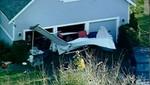 Avioneta se estrella contra una casa en EE.UU. [VIDEO]