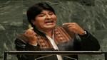 Evo Morales ante la ONU: defender el masticado de hoja de coca no es legalizar la cocaína