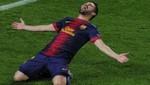 David Villa: 'Gol tempranero de Messi ayudó a ganar'