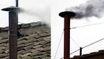 Vaticano: humo blanco contiene lactosa y clorato de potasio