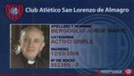 El club San Lorenzo de Argentina felicitó vía Twitter al ahora Francisco I