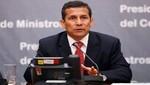 Ollanta Humala saludó elección del nuevo papa Francisco I