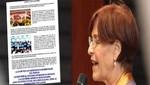 Movadef apoya el 'NO' a la revocatoria de Susana Villarán