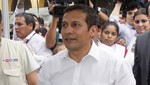 El presidente Humala olvidó su DNI y retrasó una hora su voto