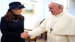 El Papa Fracisco recibió este lunes a la mandataria de Argentina Cristina Fernández [VIDEO]