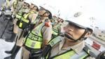 Personal femenino de la PNP asumió control de tránsito en Lima Este