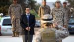 El Ministro de Defensa de Chile realizó una visita a  sus unidades militares en Arica