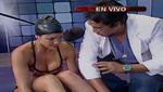 Combate: Paloma Fiuza se tuerce el tobillo en plena competencia [VIDEO]