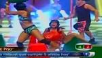Combate: la china Fabianne llora de dolor al torcerse el tobillo [VIDEO]