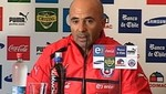 Jorge Sampaoli: Chile tuvo un resultado injusto ante Per