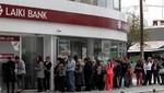 Chipre y la Troika acuerdan descuento del 20% para depósitos de más de 100 mil euros