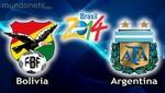 Eliminatorias Brasil 2014: Alineaciones para el partido Bolivia vs Argentina